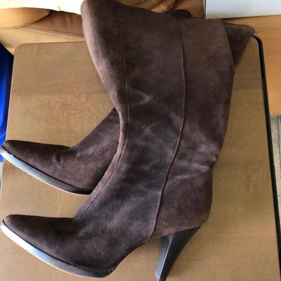 ANTONIO MELANI Shoes - Suede knee high boots